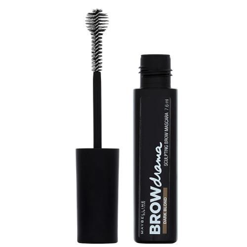 Maybelline Rimel pentru sprâncene Brow Drama (Sculpting Brow Mascara) 7,6 ml Dark Blond