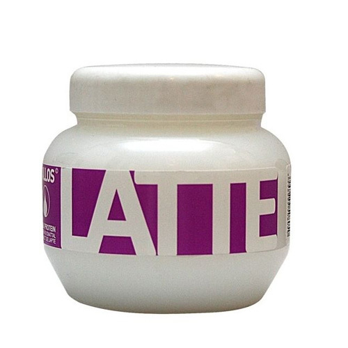 Kallos Regenerační maska s bílkovinami a aminokyselinami Latte (Latte Hair Mask) 275 ml
