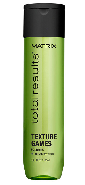 Matrix Regenerační stylingový šampon Total Results Texture Games (Shampoo For Texture) 300 ml