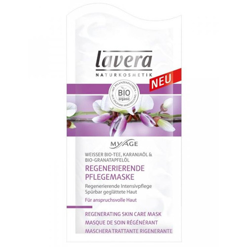 Lavera Spevňujúce pleťová maska My Age(Firming Skin Care Mask) 10 ml