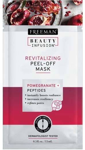 Freeman Revitalizační slupovací maska Granátové jablko a peptidy Beauty Infusion (Revitalizing Peel-Off Mask) 118 ml