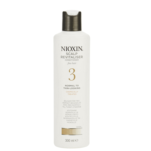 Nioxin Revitalizer pokožky pre jemné farbené mierne rednúce vlasy System 3(Scalp Revitaliser Conditioner Fine Hair Normal To Thin Looking Chemically Treated) 300 ml