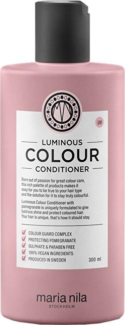 Maria Nila Rozjasňující a posilující kondicionér pro barvené vlasy bez sulfátů a parabenů Luminous Colour (Conditioner) 100 ml