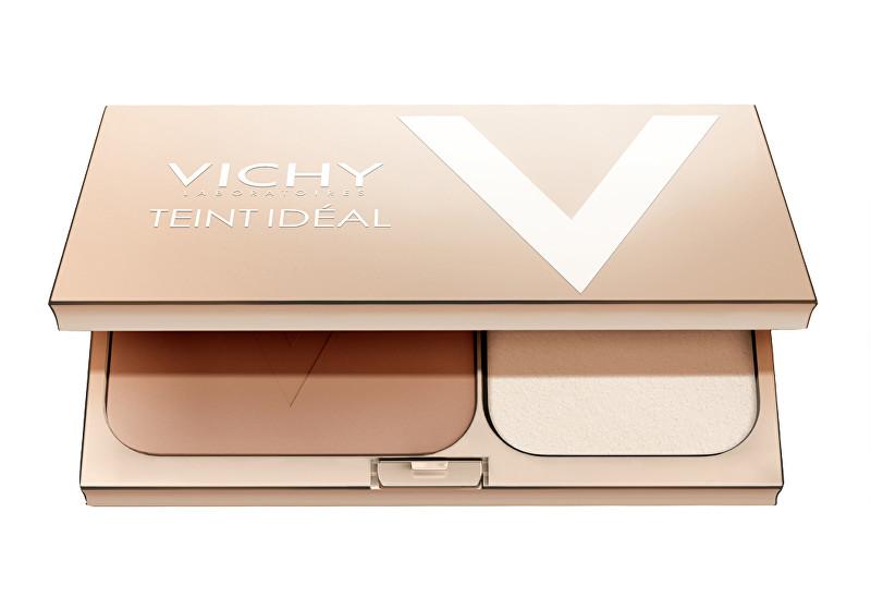 Vichy Rozjasňující kompaktní pudr Teint Ideal SPF 25 9,5 g Tan
