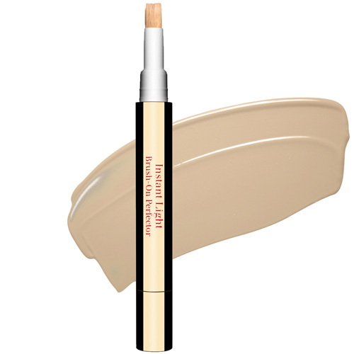 Fotografie Clarins Face Make-Up Instant Light rozjasňující korektor se štětečkem odstín 01 Pink Beige 2 ml