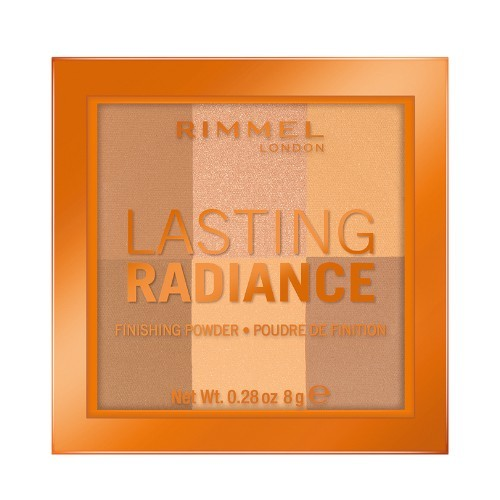 Rimmel Rozjasňujúci púder Lasting Radiance (Finishing Powder) 8 g 002 Honeycomb