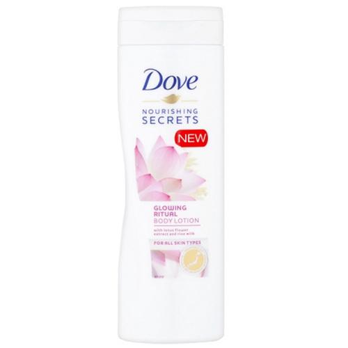 Dove Rozjasňujúci telové mlieko Nourishing Secrets ( Body Lotion) 250 ml