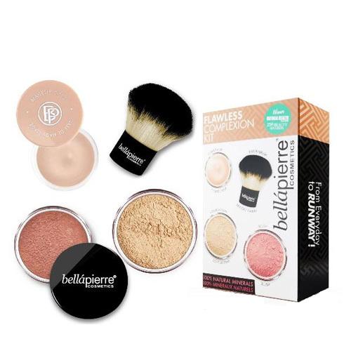 bellápierre Sada pre dokonalý make-up Flawless Complexion (Make-Up Kit) Fair