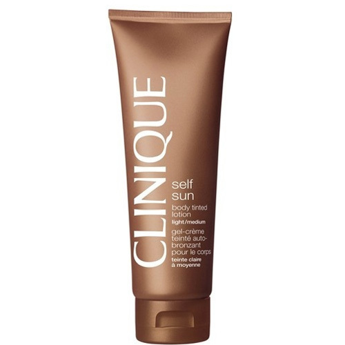 Clinique Lotiuned autobranzanta de corp Self Sun (Body Tinted Lotion) 125 ml Medium Deep