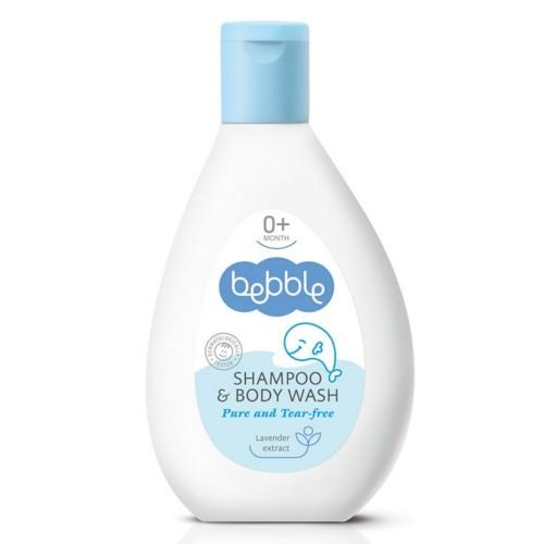 Lavena Šampon a mycí gel pro děti 2v1 Bebble (Shampoo & Body Wash) 400 ml