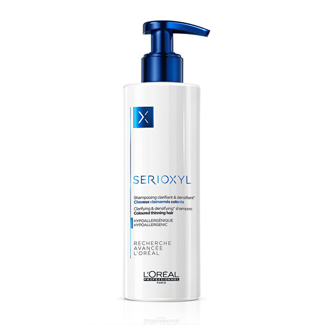 Loreal Professionnel Šampón na farbené rednúce vlasy Serioxyl(Clarifying Shampoo For Coloured Thinning Hair) 1000 ml