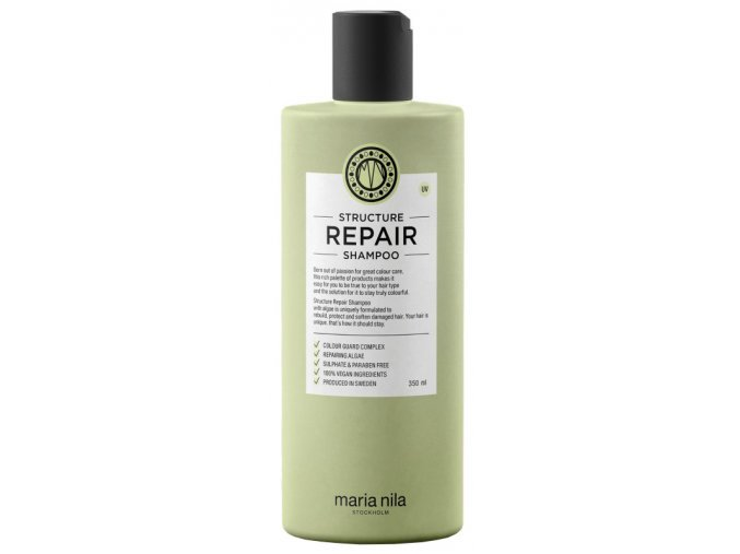 Maria Nila Šampon na suché a poškozené vlasy Structure Repair (Shampoo) 100 ml