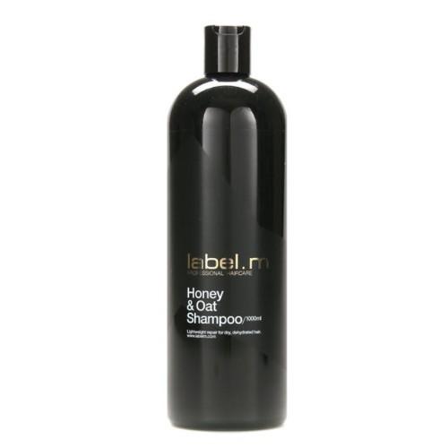 Label.m Obnovující šampon s medem a ovsem na suché a dehydratované vlasy Honey & Oat (Shampoo) 300 ml