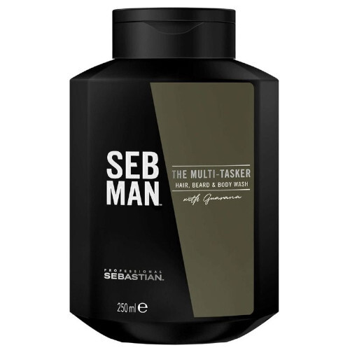 Sebastian Professional Sampon pentru păr ,barbă si corp SEB MAN The Multitasker ( Hair, Beard & Body Wash) 50 ml