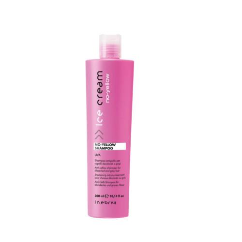 Inebrya Šampon pro melírované a šedivé vlasy Ice Cream (No Yellow Shampoo) 300 ml