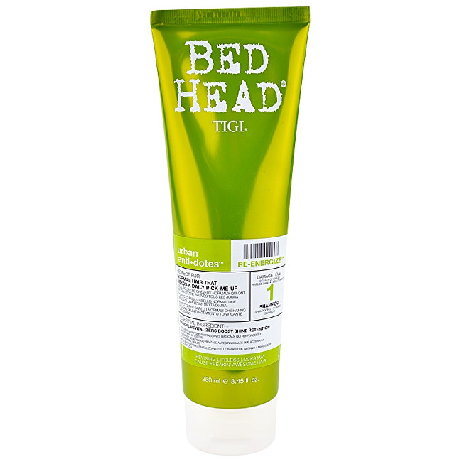 Tigi Šampon pro normální vlasy Bed Head Urban Anti+Dotes Re-Energize (Shampoo) 250 ml