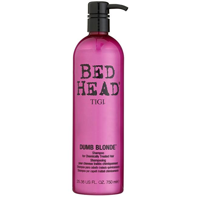 Tigi Šampon pro chemicky ošetřené blond vlasy Bed Head Dumb Blonde (Shampoo) 750 ml