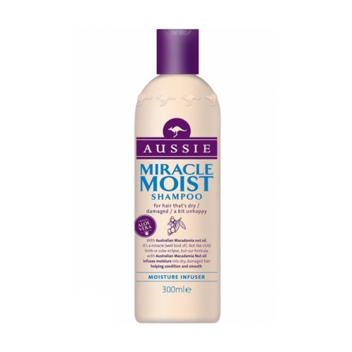 Aussie Šampon pro suché a poškozené vlasy Miracle Moist (Shampoo) 300 ml