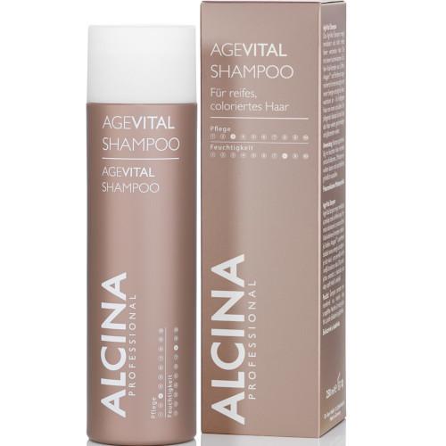 Alcina Șampon pentru păr matur, vopsit AgeVital (Shampoo) 150 ml