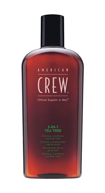 American Crew Šampon s tea tree 3v1 (Shampoo, Conditioner & Body Wash) 450 ml