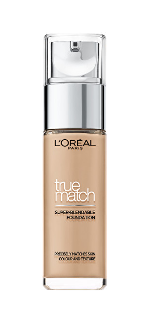 L´Oréal Paris Sjednocující a zdokonalující make-up True Match (Super-Blendable Foundation) 30 ml 7.D/7.W Golden Amber