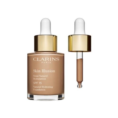 Clarins Hydratační make-up Skin Illusion SPF 15 (Natural Hydrating Foundation) 30 ml 100.5 Cream