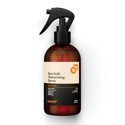 Beviro Slaný texturizační sprej na vlasy Sea Salt Texturising Spray Extreme Hold 50 ml