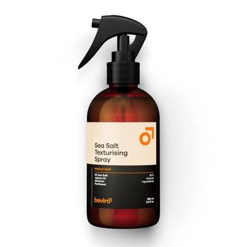 Beviro Slaný texturizační sprej na vlasy Sea Salt Texturising Spray Medium Hold 50 ml