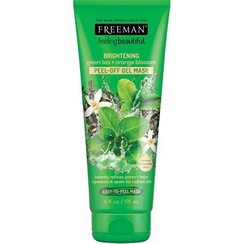 Freeman Slupovací gelová maska Zelený čaj & Pomerančový květ Feeling Beautiful (Peel Off Gel Mask) 15 ml