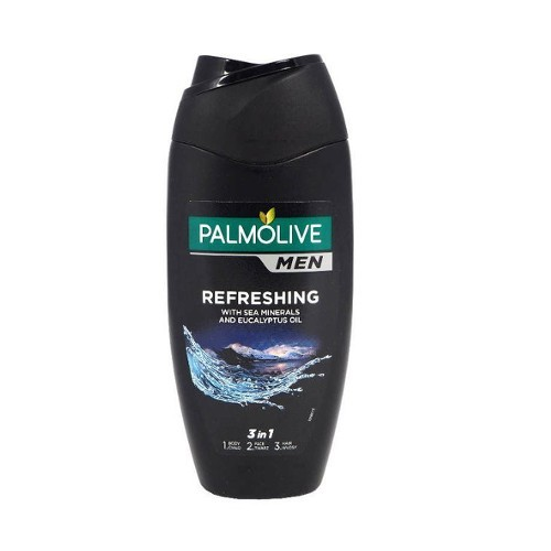 Palmolive Gel de duș pentru bărbați 2in1 pentru corp și păr For Men (Refreshing 2 In 1 Body & Hair Shower Shampoo) 750 ml s pumpičkou