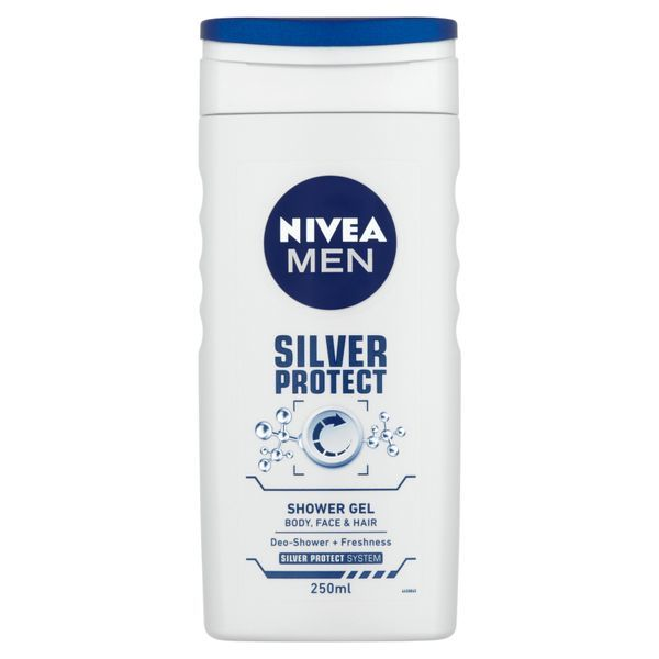 Fotografie Nivea Men Silver Protect sprchový gel 250 ml