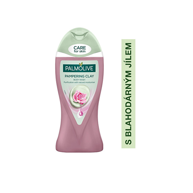 Palmolive Sprchový gel s jílem a růžovým olejem Rose (Pampering Clay Body Wash) 250 ml