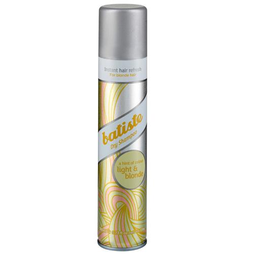 Batiste Suchý šampon pro blond vlasy (Dry Shampoo Plus Brilliant Blonde) 200 ml