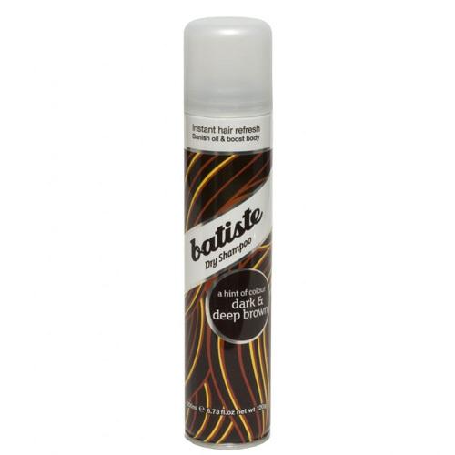 Batiste Suchý šampon pro tmavé vlasy (Dry Shampoo Plus Divine Dark) 200 ml