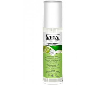 Lavera Svěží deo sprej BIO Verbena - BIO Limetka (Deo Spray) 75 ml 75 ml