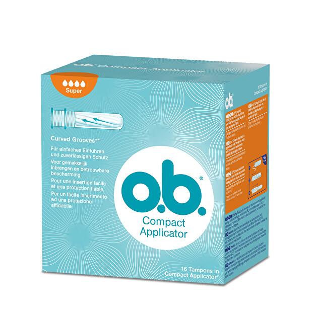 O.b. Tampony Super s aplikátorem 16 ks