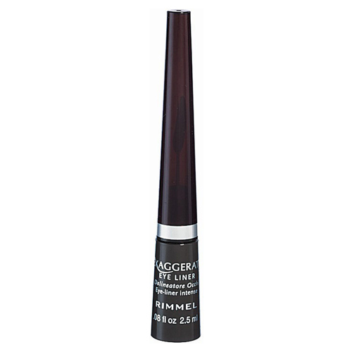 Rimmel Tekuté očné linky (Exaggerate Eye Liner) 2,5 ml 001 Black