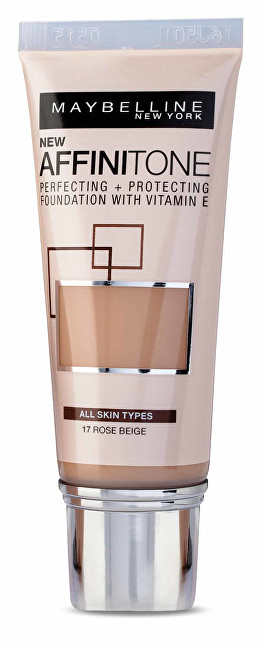 Maybelline Sjednocující make-up s HD pigmenty Affinitone (Perfecting + Protecting Foundation With Vitamin E) 30 ml 24 Golden Beige