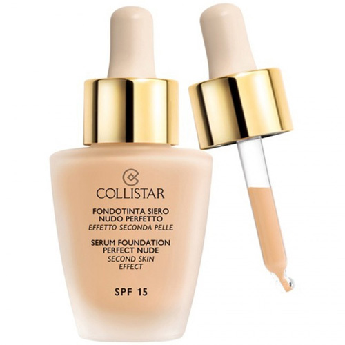 Collistar Tekutý make-up so sérom pre vzhľad nahé pleti (Serum Foundation Perfect Nude) 30 ml 01 Ivory