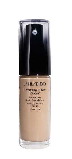 Shiseido Tekutý rozjasňujúci make-up Synchro Skin Glow SPF 20 (Luminizing Fluid Foundation) 30 ml Neutral 3