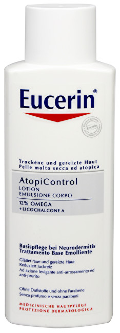 Eucerin Tělové mléko AtopiControl 250 ml