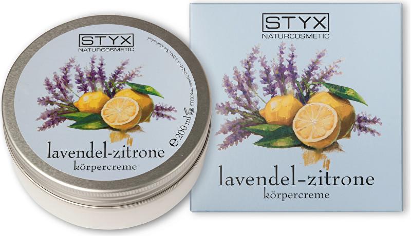 Styx Tělový krém Levandule - citron (Body Cream) 200 ml
