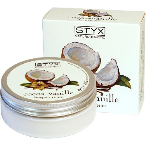 Styx Tělový krém s tropickou vůní (Cocos Vanille Body cream) 200 ml