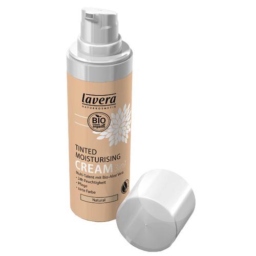 Fotografie Lavera Tónovací hydratační přírodní krém 3v1 (Tinted Moisturising Cream) 30 ml