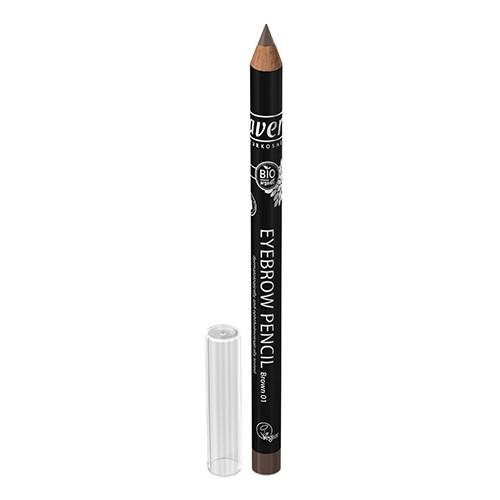 Lavera Tužka na obočí (Eyebrow Pencil) 1,14 g No. 1 hnědá*