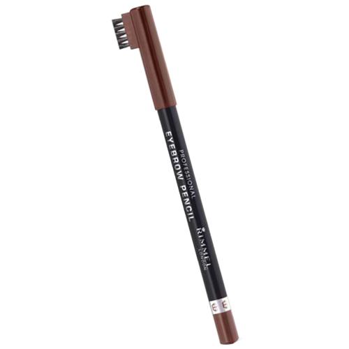 Fotografie Rimmel Tužka na obočí (Professional Eyebrow Pencil) 1,4 g 001 Dark Brown