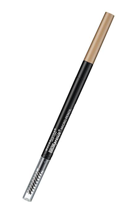 Maybelline Tužka na obočí s kartáčkem Brow Precise (Micro Pencil) 0,14 g Blond