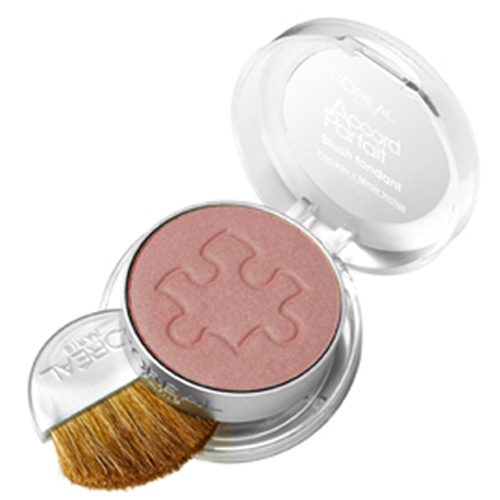 Loreal Paris Tvářenka (Blush Accord Parfait) 5 g 200 Ambre dOr/Gold