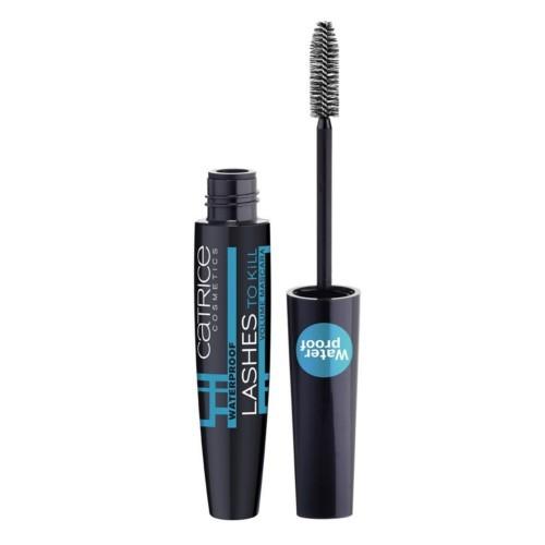 Catrice Tvarující voděodolná řasenka Lashes To Kill (Waterproof Volume Mascara) 10 ml Black-Waterproof