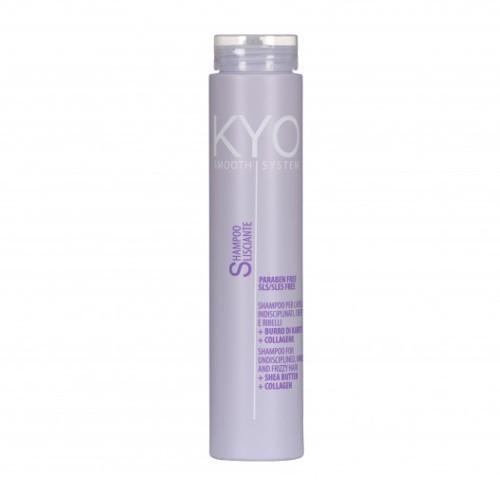 Freelimix Uhladzujúci šampón s kolagénom a bambuckým maslom KYO (Lisciante Shampoo) 250 ml